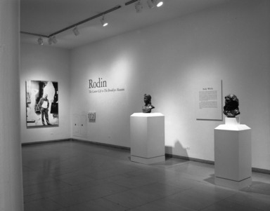 Rodin: The Cantor Gift to The Brooklyn Museum, March 1, 1988 through -1 (date unknown) (Image: PHO_E1988i012.jpg Brooklyn Museum photograph, 1988)