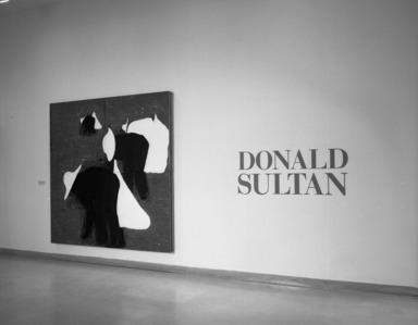 Donald Sultan, April 09, 1988 through June 13, 1988 (Image: PHO_E1988i035.jpg Brooklyn Museum photograph, 1988)