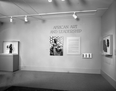 African Art and Leadership, April 15, 1989 through August 21, 1989 (Image: PHO_E1989i018.jpg Brooklyn Museum photograph, 1989)