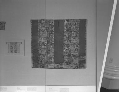 Andean Textiles: Selz Case, Wari rotation, July 16, 1990 through December 15, 1992 (Image: PHO_E1990i025.jpg Brooklyn Museum photograph, 1990)