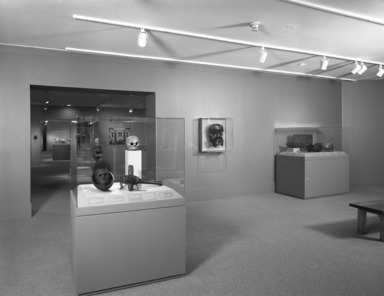 Objects of Myth and Memory. [10/04/1991 - 12/29/1991]. Installation view.