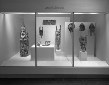Arts of Melanesia. [--/--/1995 - --/--/----]. Installation view.