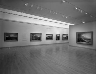 Thomas Cole: Landscape into History, January 13, 1995 through April 2, 1995 (Image: PHO_E1995i051.jpg Brooklyn Museum photograph, 1995)