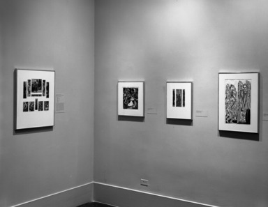Alone in a Crowd: Prints of the 1930s and 1940s by African-American Artists, February 25, 1996 through April 22, 1996 (Image: PHO_E1996i004.jpg Brooklyn Museum photograph, 1996)