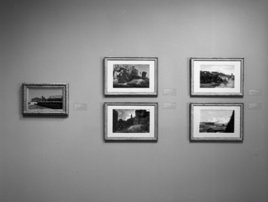 In the Light of Italy: Corot and Early Open-Air Painting, October 11, 1996 through January 12, 1997 (Image: PHO_E1996i024.jpg Brooklyn Museum photograph, 1996)