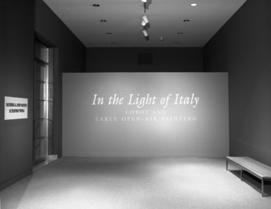In the Light of Italy: Corot and Early Open-Air Painting, October 11, 1996 through January 12, 1997 (Image: PHO_E1996i032.jpg Brooklyn Museum photograph, 1996)