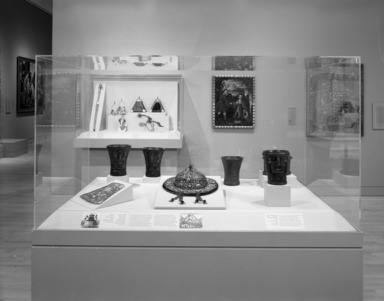 Converging Cultures: Art & Identity in Spanish America, March 1, 1996 through August 11, 1996 (Image: PHO_E1996i047.jpg Brooklyn Museum photograph, 1996)