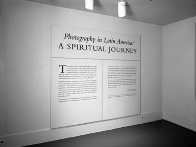 Latin American Photography: A Spiritual Journey, September 12, 1996 through January 19, 1997 (Image: PHO_E1996i107.jpg Brooklyn Museum photograph, 1996)