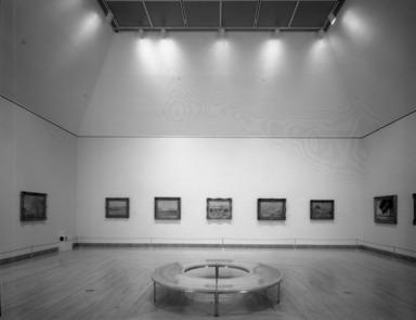 Monet and the Mediterranean, October 10, 1997 through January 4, 1998 (Image: PHO_E1997i076.jpg Brooklyn Museum. Justin van Soest,er photograph, 1997)