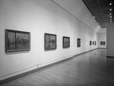 Monet and the Mediterranean, October 10, 1997 through January 4, 1998 (Image: PHO_E1997i078.jpg Brooklyn Museum. Justin van Soest,er photograph, 1997)