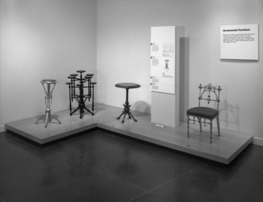 The Furniture of George Hunzinger: Invention & Innovation in 19th-Century America, November 20, 1997 through February 15, 1998 (Image: PHO_E1997i085.jpg Brooklyn Museum photograph, 1998)