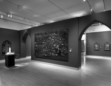 Royal Persian Paintings, The Qajar Epoch, 1785-1925, October 13, 1998 through January 14, 1999 (Image: PHO_E1998_Qajar_007.jpg Brooklyn Museum photograph, 1998)