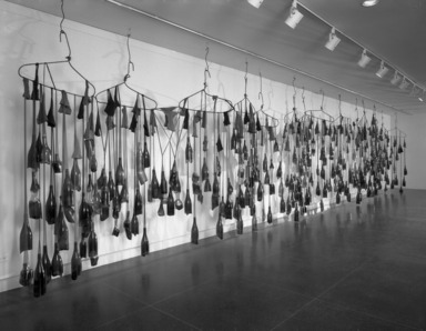 Working in Brooklyn: Scattered Petals, Fallen Leaves, Shards of Glass: The Work of Bing Hu, February 14, 1998 through May 10, 1998 (Image: PHO_E1998i001.jpg Brooklyn Museum photograph, 1998)