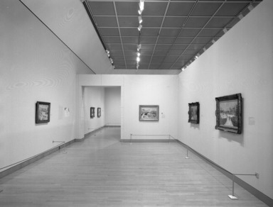 Impressionists in Winter: Effets de Neige. [05/28/1999 - 08/29/1999]. Installation view.