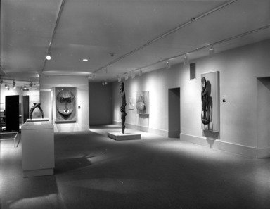Architectural Elements from the Pacific Islands, January 01, 1987 through August 08, 1988 (Image: PHO_E_1987_Architectural_Elements_001_bw_SL5.jpg Brooklyn Museum photograph, 1987)