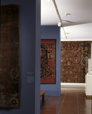 Magic Carpets: Selections from the Brooklyn Museum Collection (long-term installation) [11/06/1996-fall/1998]. Installation view.