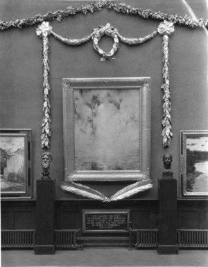 Paintings and Sculpture by the Society of Scandinavian American Artists, April 11, 1932 through May 15, 1932 (Image: PSC_E1932i001.jpg Brooklyn Museum photograph, 1932)
