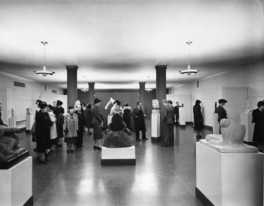 Contemporary Sculpture: Second Exhibition of the Sculptors' Guild, October 21, 1938 through November 27, 1938 (Image: PSC_E1938i001.jpg Brooklyn Museum photograph, 1938)