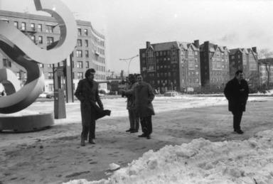 Buky Schwartz, February 10, 1972 through September 29, 1972 (Image: PSC_E1972i006.jpg Brooklyn Museum photograph, 1972)