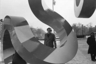 Buky Schwartz, February 10, 1972 through September 29, 1972 (Image: PSC_E1972i008.jpg Brooklyn Museum photograph, 1972)