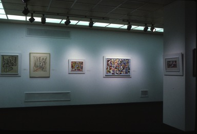 Modernist Art from the Edith and Milton Lowenthal Collection. [03/21/1981 - 05/10/1981]. Installation view.
