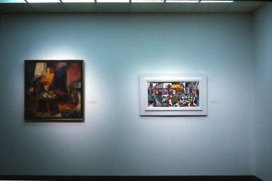 Modernist Art from the Edith and Milton Lowenthal Collection, March 21, 1981 through May 10, 1981 (Image: PSC_E1981i015.jpg Brooklyn Museum photograph, 1981)