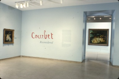 Courbet Reconsidered, November 04, 1988 through January 16, 1989 (Image: PSC_E1988i102.jpg Brooklyn Museum photograph, 1988)