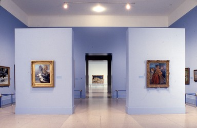 Courbet Reconsidered. [11/04/1988 - 01/16/1989]. Installation view.