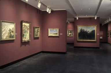 Curator's Choice: A Century of French Painting. [10/19/1988 - 03/06/1989]. Installation view.