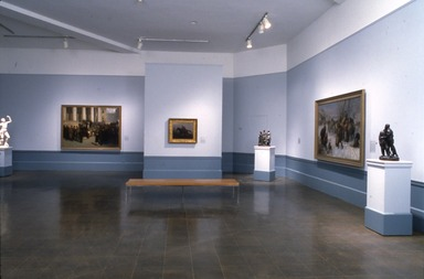 Facing History: The Black Image in American Art. [04/20/1990 - 06/25/1990]. Installation view.