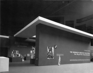The Brooklyn Museum Collection: The Play of the Unmentionable (Joseph Kosuth), September 27, 1990 through 1990 (date unknown) (Image: PSC_E1990i158.jpg Brooklyn Museum.  ? Joseph Kosuth, courtesy of the artist and Sean Kelly Gallery. photograph, 1990)