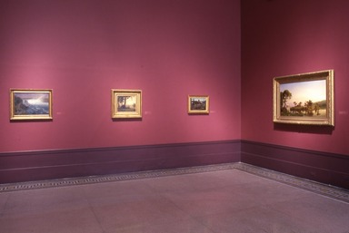 Albert Bierstadt: Art & Enterprise. [02/08/1991 - 05/06/1991]. Installation view.
