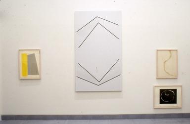 Leon Polk Smith: Selected Works, 1943-1992, February 19, 1993 through January 02, 1994 (Image: PSC_E1993i039.jpg  photograph, 1993)