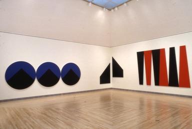 Leon Polk Smith: Selected Works, 1943-1992, February 19, 1993 through January 02, 1994 (Image: PSC_E1993i041.jpg  photograph, 1993)