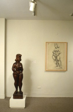 The Second Dimension: Twentieth-Century Sculptors' Drawings from The Brooklyn Museum, June 25, 1993 through September 19, 1993 (Image: PSC_E1993i061.jpg Brooklyn Museum photograph, 1993)