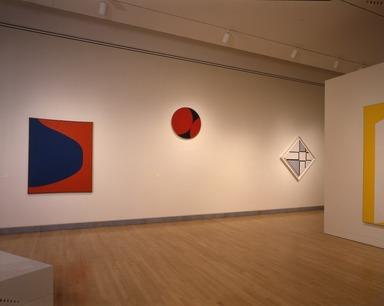 Leon Polk Smith: Selected Works, 1943-1992, February 19, 1993 through January 02, 1994 (Image: PSC_E1994i009.jpg  photograph, 1993)
