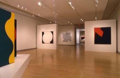 Leon Polk Smith: American Painter, September 29, 1995 through January 07, 1996 (Image: PSC_E1995i033.jpg Brooklyn Museum photograph, 1995)