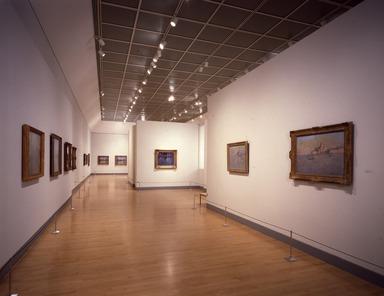 Monet and the Mediterranean, October 10, 1997 through January 4, 1998 (Image: PSC_E1997i005.jpg Brooklyn Museum. Justin van Soest,er photograph, 1997)