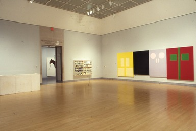 Sensation: Young British Artists from the Saatchi Collection. [10/02/1999 - 01/09/2000]. Installation view.