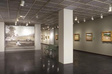 William Merritt Chase: Modern American Landscapes, 1886-1890. [05/27/2000 - 08/13/2000]. Installation view.