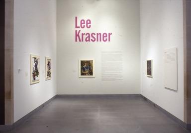 Lee Krasner, October 27, 2000 through January 7, 2001 (Image: PSC_E2000i016.jpg Brooklyn Museum photograph, 2000)