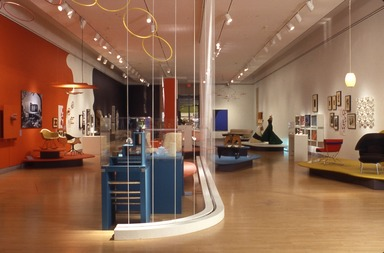 Vital Forms: American Art and Design in the Atomic Age, 1940-1960. [10/12/2001 - 01/06/2002]. Installation view.