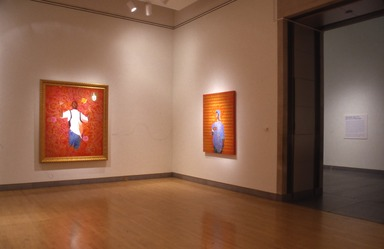 Passing/Posing: Kehinde Wiley Paintings, October 8, 2004 through February 6, 2005 (Image: PSC_E2004i172.jpg Brooklyn Museum photograph, 2004)