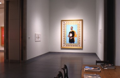 Passing/Posing: Kehinde Wiley Paintings, October 8, 2004 through February 6, 2005 (Image: PSC_E2004i174.jpg Brooklyn Museum photograph, 2004)