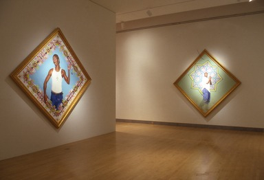Passing/Posing: Kehinde Wiley Paintings, October 8, 2004 through February 6, 2005 (Image: PSC_E2004i177.jpg Brooklyn Museum photograph, 2004)