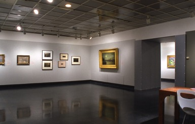 Monet's London: Artists' Reflections on the Thames, 1859-1914. [05/27/2005 - 09/04/2005]. Installation view.