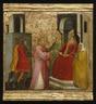 Saint Lawrence Arraigned Before the Prefect Valerianus