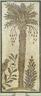 Mosaic of Date Palm Tree
