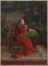 Cardinal Taking Tea