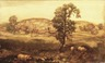 Landscape with Pigs (Autumn Landscape)